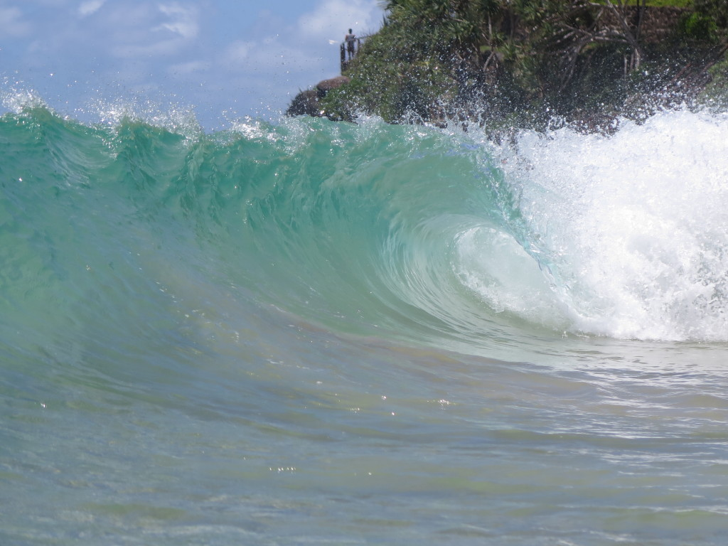 Coolangatta magic waves