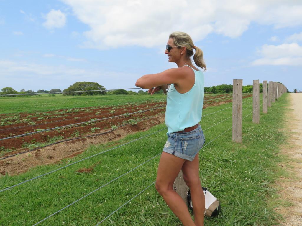 Sam at The Farm